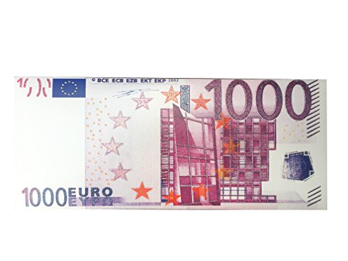 1000 Euro Geschenk Schokolade Geldschein