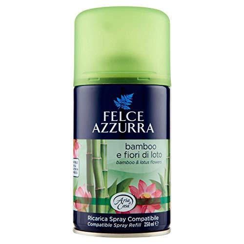 Felce Azzurra Aria di Casa - Spray automático de recambio de bambú y flores de loto, compatible – 250 ml