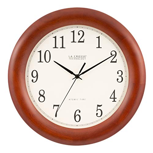 Wooden clock 5th anniversary gift idea for men