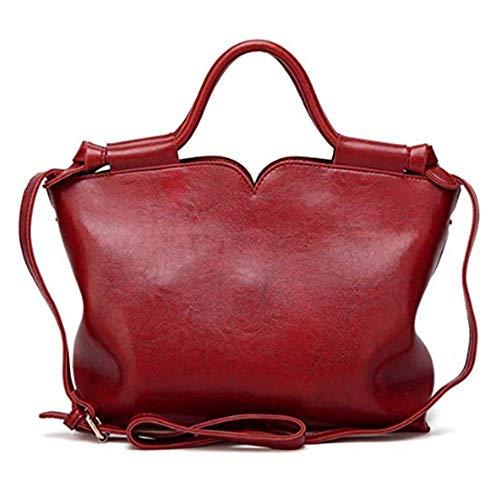 Eysee La borsa a tracolla di cuoio dell'unità di elaborazione delle borse delle donne totalizza la borsa casuale del sacchetto di lavoro