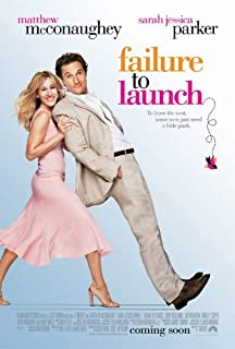 FAILURE TO LAUNCH - Movie Poster - Double-Sided - 27x40 - Original - SARAH JESSICA PARKER - MATTHEW MCCONAUGHEY