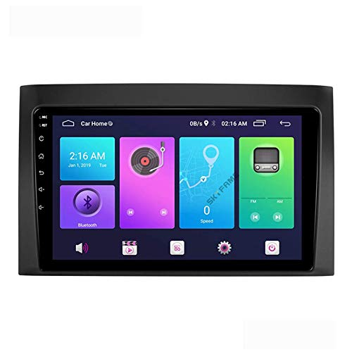 LYHY Android 9.0 Car Stereo 2 DIN Head Unit Compatible con Isuzu D-MAX 2008-2011 Navegación GPS Pantalla táctil de 9 Pulgadas Reproductor Multimedia MP5 Receptor de Video y Radio con 4G WiFi DSP