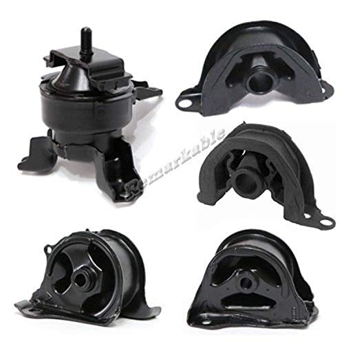 RP Remarkable Power, G033 Fit For 1996-2000 Civic 1.6L AT/MT Transmission Engine Motor Mount Kit Automatic or Manual Trans A6502 A6520 A6506 A6556 A6526 Front Right & Left Rear Mount