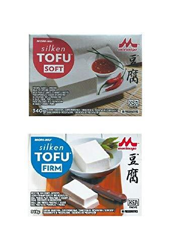 Pamai Pai® Tofu Mix Set 689g: Weicher + Fester Seiden Tofu Soft und Firm Silken Tofu