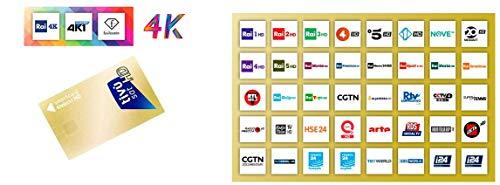 TiVuSat TiVu Sat Karte Tivusat ( ohne Modul ) inkl. TiVu Aktive Smartcard Karte