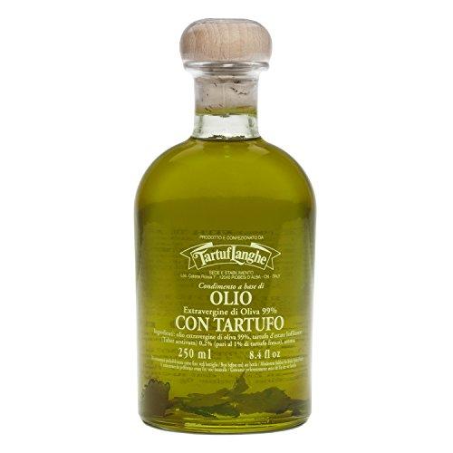 Olivenöl Extra Vergine mit Sommertrüffel & Aroma (Trüffelöl), Tartuflanghe, 250 ml