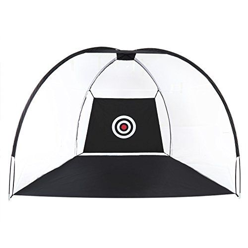 Ancheer Golf Driving Net Portable Pop-Up Golf Practice Hitting Net with Target