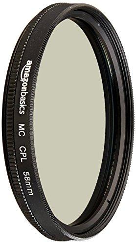Amazon Basics Zirkularer Polarisationsfilter - 58mm