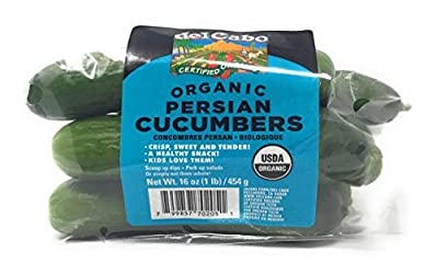 Cucumber Persian Organic, 16 Ounce