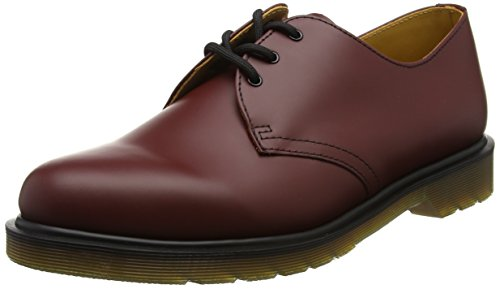 Dr. Martens 1461 Scarpe basse stringate, Unisex, Adulto, Rosso (Cherry Red), 37