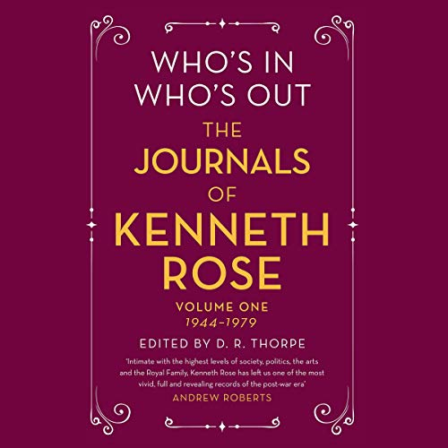 Who's In, Who's Out audiobook cover art
