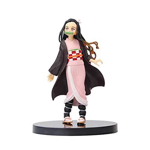arthomer Demon Slayer Figur,Japan Anime Figur Coole Süße Puppen Für Fans Spielzeug Sammlung,16 cm