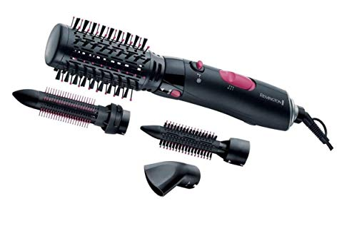 Remington AS7051 Spazzola Elettrica Volume & Curl, 1000 Watt, Accessori