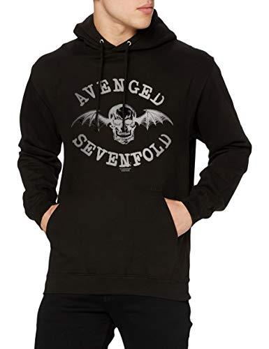 Avenged Sevenfold Logo - Chaqueta Hombre, Negro, Medium