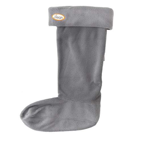 Jileon Winter Fleece Boot Liners For Women | Soft Fleece Thick Boot Socks Women