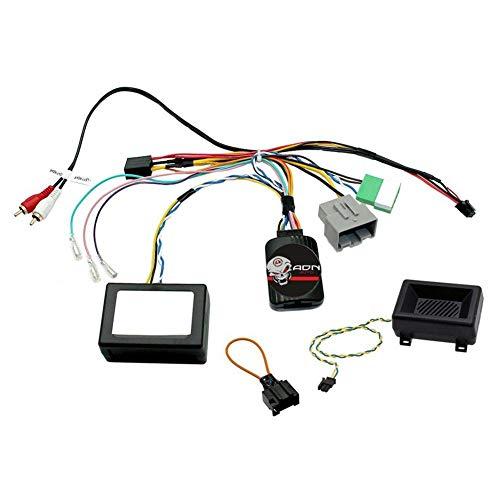 Interface Commande au volant LR10J compatible avec Land Rover 06-14 Ampli fibre JVC