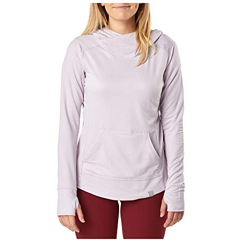 5.11 Tactical Series Pull Aphrodite Hooded Pullover à Capuche Femme, Wisteria HB, FR (Taille Fabricant : XS)