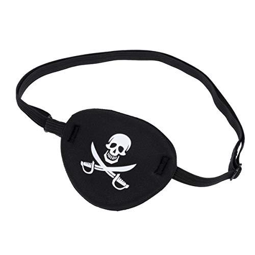 WINOMO - 1 parches piratas para disfraz de Halloween o fiesta