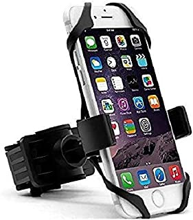 Hakea Bike Mount / Motorcycle Handle-bar Mobile Phone Holder - 360° Rotatable & Adjustable Head - Secure Grip for iPhone 11 / 11 Pro / 11 Pro Max / X / XS / XS Max / XR / 8 / 8 Plus / 7 / 7 Plus / 6S / 6S Plus / 6 / 6 Plus - Galaxy Note S10 / S10 Plus / / S9 / S9+ / S8 / S8+ / On5 / S7 Edge / S7 - LG V10 - GPS - Black & Red