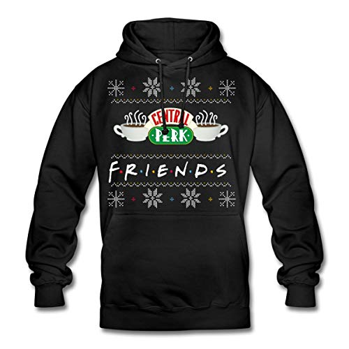 Spreadshirt Friends Central Perk Ugly Christmas Hoodie unisex
