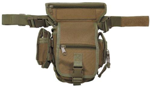 MFH Hip Bag Hüfttasche Outdoor Tasche Softair Beintasche Paintball Gürteltasche viele Farben (Coyote)
