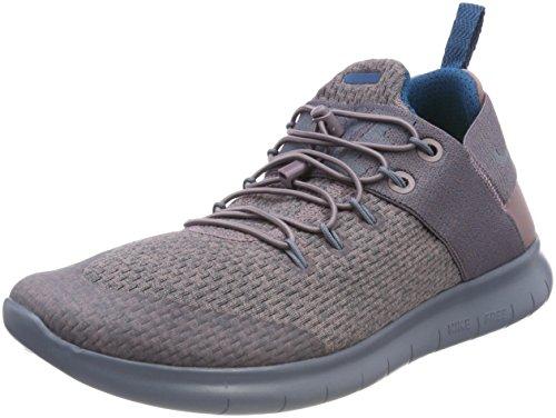 Nike Women's W Free Rn CMTR 2017 Prem Running Shoes, Purple (Taupe Grey/Green Abyss/Black/Armoury Blue 200), 3.5 UK 36.5 EU