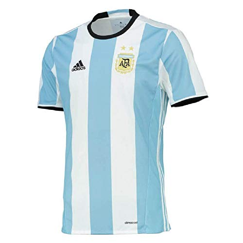 adidas 2016-2017 Argentina Home Football Soccer T-Shirt Maglia