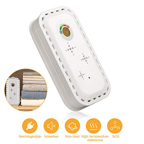Buy Discount Smile Portable Mini Dehumidifier for Damp, 130Ml Compact Moisture in Home, Kitchen, Bed...