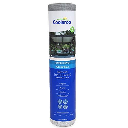 Coolaroo 457860 Schattierstoff mit 90% UV-Schutz (1,8 x 1,5 m), 1,8 x 1,5 m, Stone