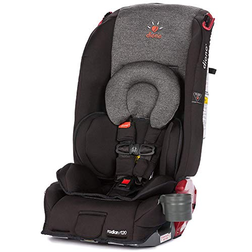 Diono Radian R120 All-in-One Convertible Car Seat, For Children from Birth to 120 Pounds, Essex (Discontinued by Manufacture)