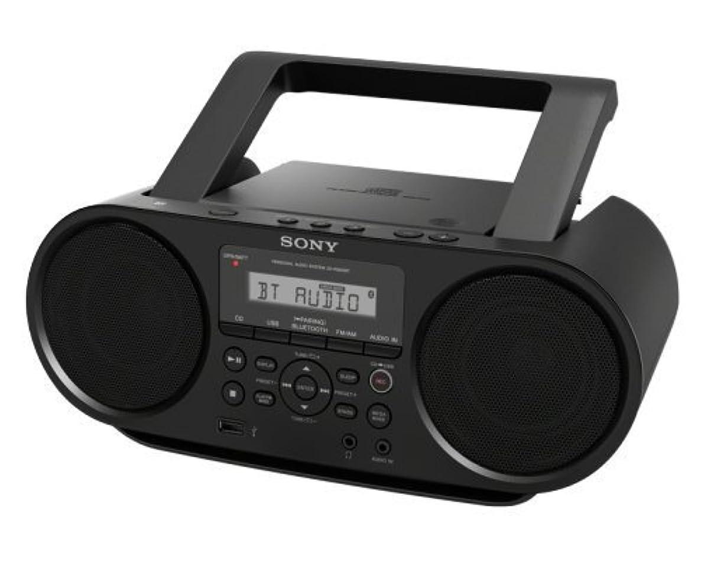 レベル毒液進むSony ZSRS60BT CDのブームボックス BluetoothとNFC搭載