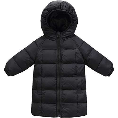 Donsjas met capuchon, waterdicht, kinder- ski-jack, jas, winter, warm, jongens, kleding, gevoerd, lange mouwen
