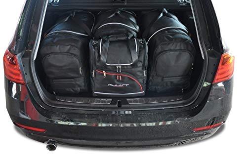 KJUST Dedizierte Reisetaschen 4 STK kompatibel mit BMW 3 Touring F31 2012 - 2018