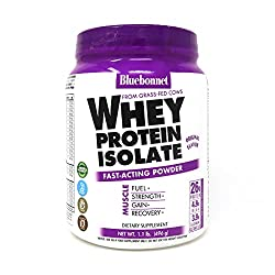 in budget affordable Blue Bonnet Nutrition Whey Protein Isolate Powder, Glass Whey Whey, 26 grams of Protein, …