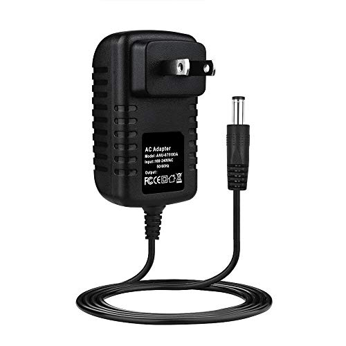 SLLEA 12V 2A AC Power Adaptor for Vision Fitness Elite X6200 HRT Folding Elliptical Power Supply Cord Cable PS Battery Wall Home Charger