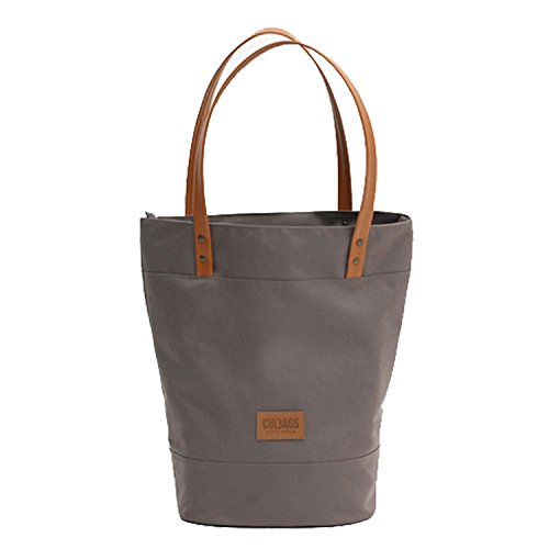 C-BAGS Shopper Elegance Gepäckträger Fahrradtasche Fahrrad Tasche Handtasche (Cappucino)