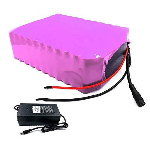 con cargador 31.5Ah 10S9P 36V batería e-bike ebike bicicleta eléctrica Li-ion personalizable 200x170x70mm