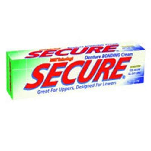Secure Denture Bonding Cream - 1.4 Ounces (Pack of 3)