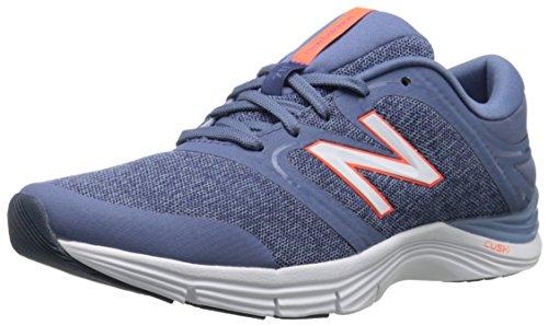 New Balance Women's WX711V2 Training Shoe, Blue/Orange, 9.5...
