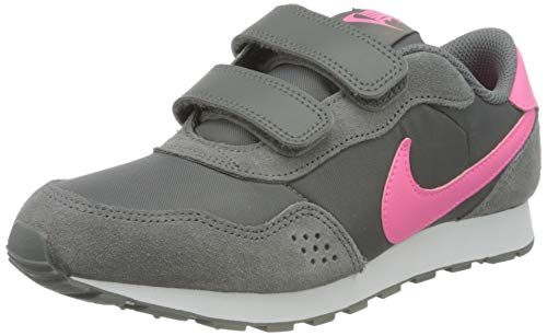 Nike MD Valiant (PSV), Zapatillas para Correr, Smoke Grey Pink Glow White, 33 EU