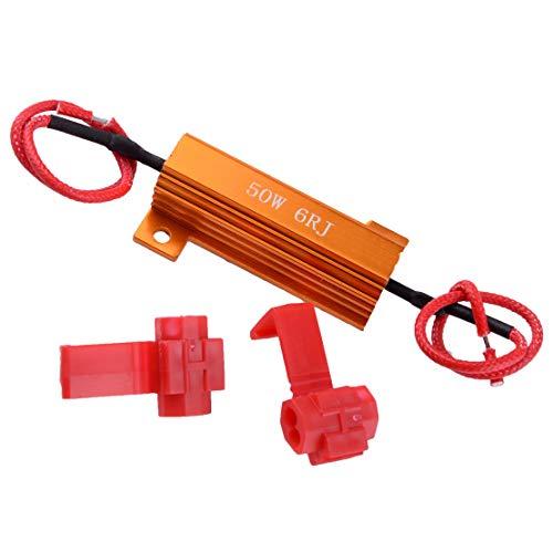 beler Clignotant automatique de clignotant de clignotant de résistance de clignotement de clignotant de clignotant de lumière d'ampoule de 50W 6ohm LED