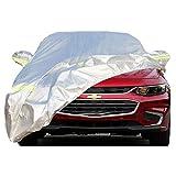Couverture de Voiture pour Chevrolet Protection Solaire et Pluie Antipoussière et Coupe-Vent Quatre Saisons Universelles Housse de Protection PEVA Gray-Car Covers for Cavalier