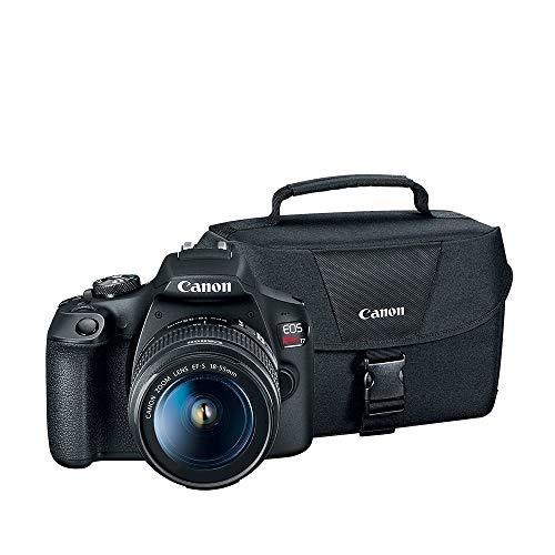 Canon T7 18-55 + 200ES + Curso ABC de la Fotografía Oficial Mexicana, Black