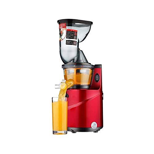 LKNJLL Slow Masticating Exprimidor 83mm (3.15inch) Amplia Juice Extractor Chute Cold Press Exprimidor máquina con Motor silencioso/función inversa/jarro Jugo de Alta de nutrientes de Frutas y Jugo