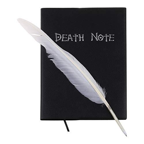 KERDEJAR Nuevo Cuaderno de Cosplay de Death Note y bolígrafo de Pluma Libro animación Arte Diario de Escritura