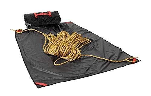 Ferrino, Sacca porta corda con Tracolla e Manici + Tappeto 145 x 115 cm Nero, 145X115 CM
