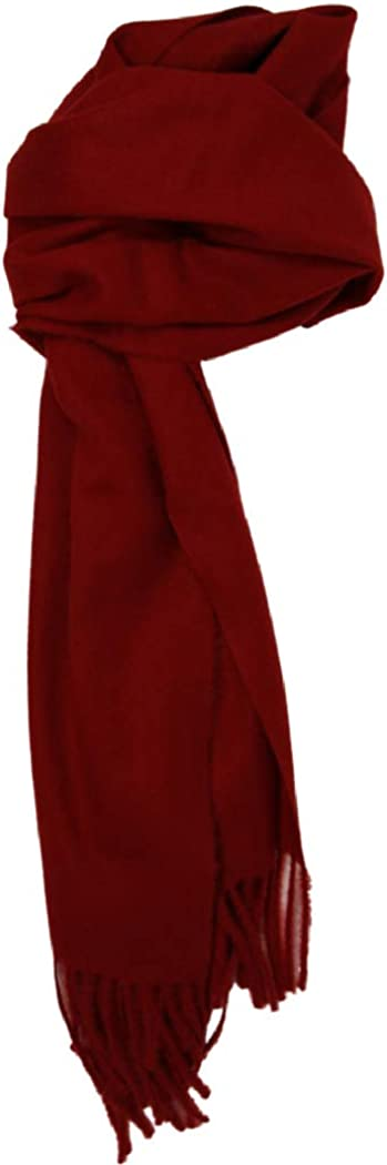 sale Love Lakeside-Men's Cashmere Feel Winter Solid Scarf New color Color