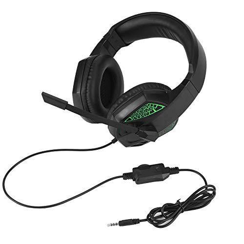 SOONHUA Upgraded Second Generation Headset Gaming Headset Stereo Surround Headset mit Rauschunterdrückung Mikrofon Lichteffekt für PS4 Xbox One PC Computer