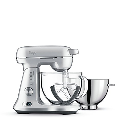 Sage BEM825BAL The Bakery Boss Stand Food Mixer with 4.7L Bowl - Silver