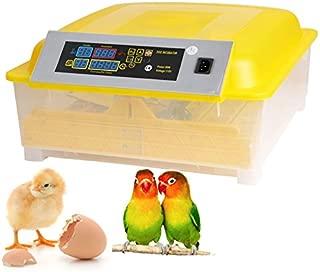 kemanner Automatic 48 Digital Clear Egg Incubator Hatcher Egg Turning Temperature Control 80W US Plug